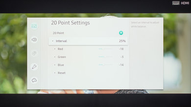Samsung RU8000 Calibration Settings 21