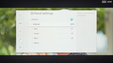 Samsung RU8000 Calibration Settings 29