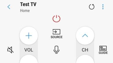 Samsung NU8500 Remote App Picture