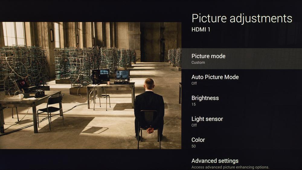 Sony X830C Calibration Settings 1