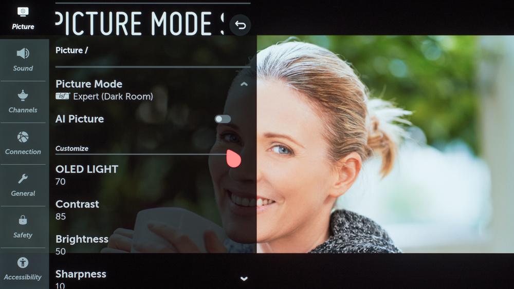 LG E9 OLED Calibration Settings 10
