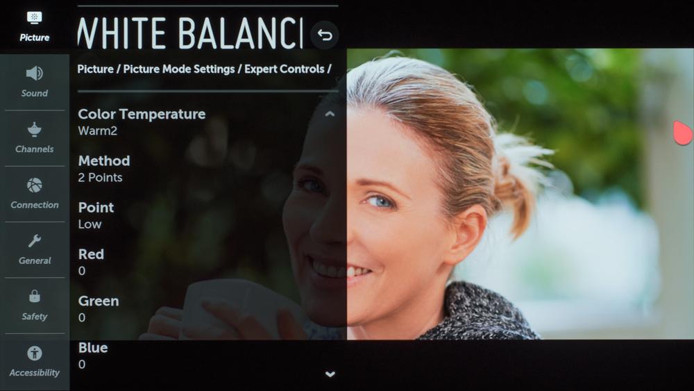 LG E9 OLED Calibration Settings 12