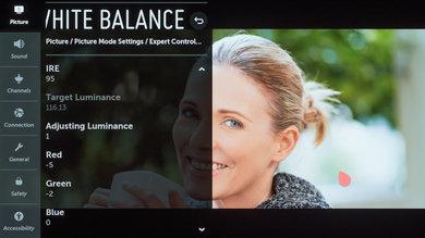 LG E9 OLED Calibration Settings 33