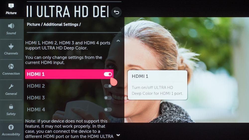 LG E9 OLED Calibration Settings 4