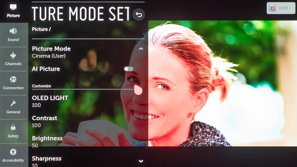 LG E9 OLED Calibration Settings 77