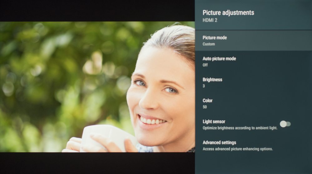 Sony X830F Calibration Settings 1