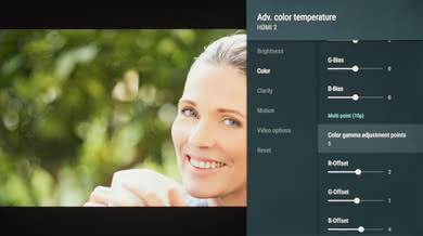 Sony X830F Calibration Settings 12