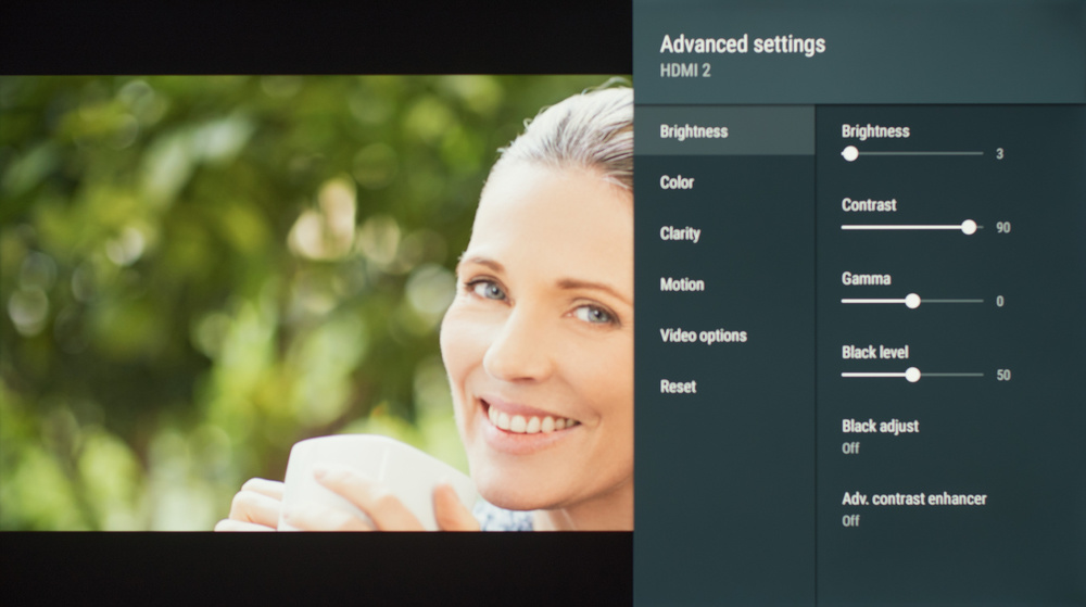 Sony X830F Calibration Settings 2