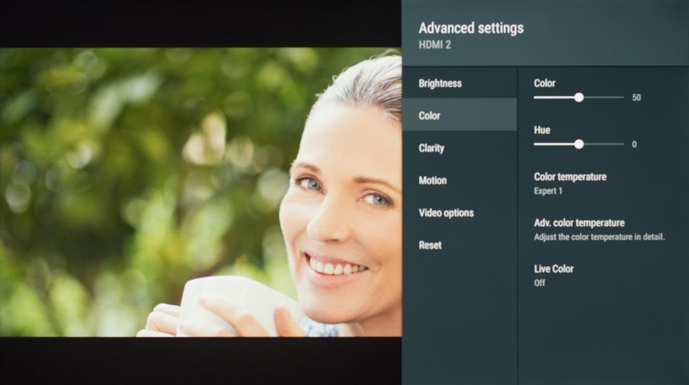 Sony X830F Calibration Settings 3