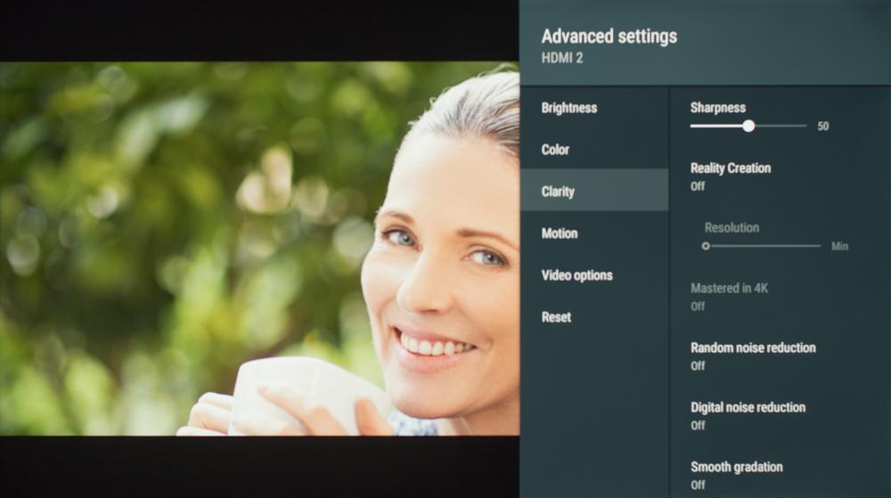 Sony X830F Calibration Settings 4