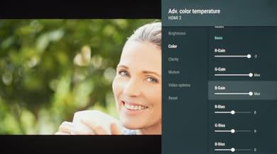 Sony X830F Calibration Settings 7