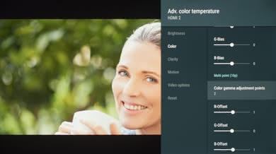 Sony X830F Calibration Settings 9