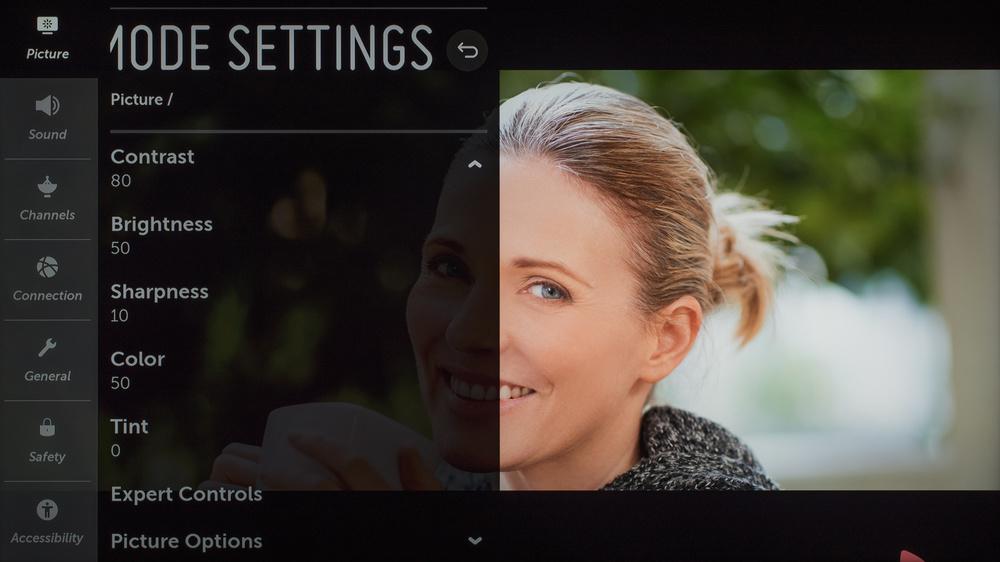 LG SM9970 8k Calibration Settings 3