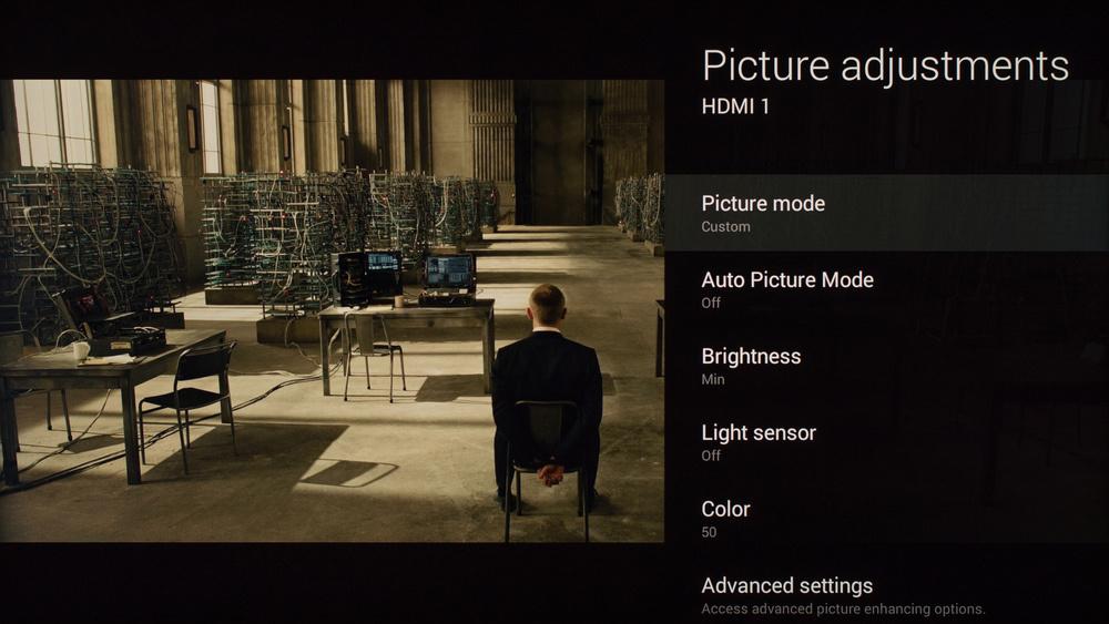 Sony X930C Calibration Settings 1