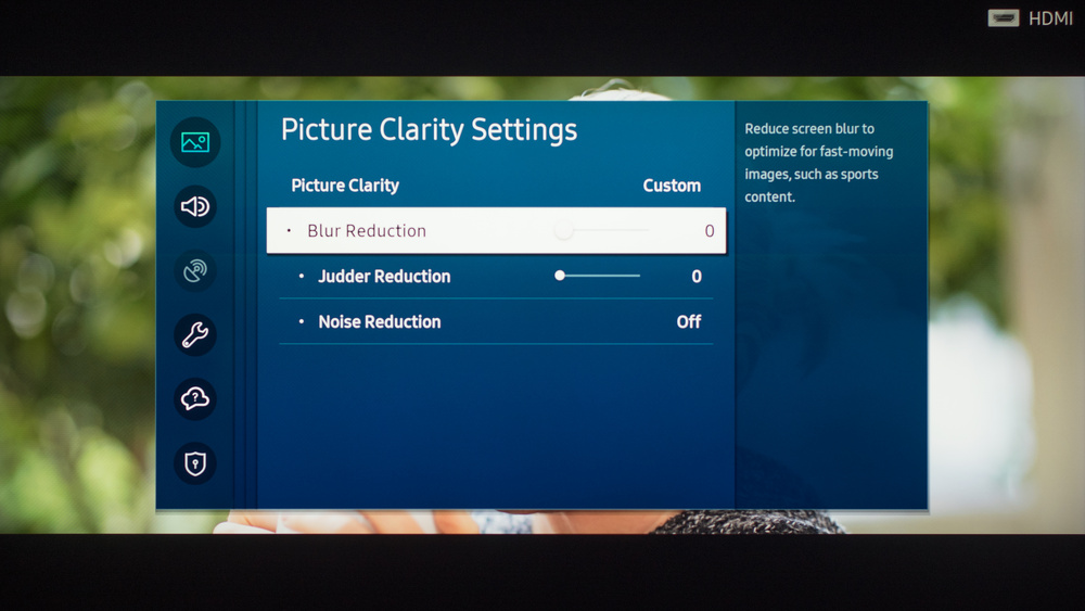 Samsung The Terrace Calibration Settings 12