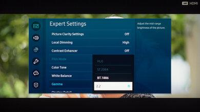 Samsung The Terrace Calibration Settings 47