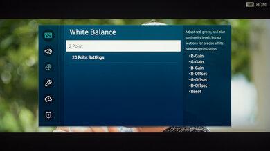 Samsung Q90T QLED Calibration Settings 21