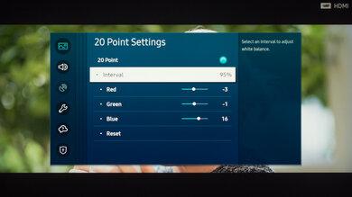 Samsung Q90T QLED Calibration Settings 41