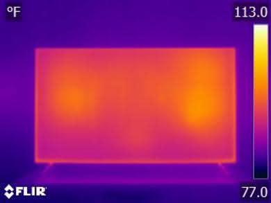 Vizio P Series 2018 Temperature picture
