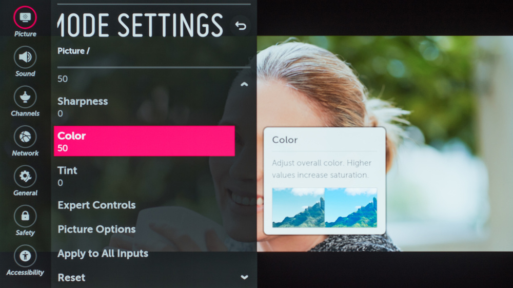 LG B8 OLED Calibration Settings 11
