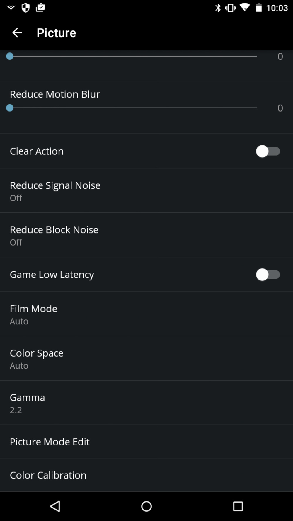 Vizio M Series 2016 Calibration Settings 13