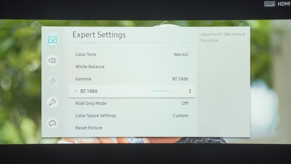 Samsung MU7600 Calibration Settings 12
