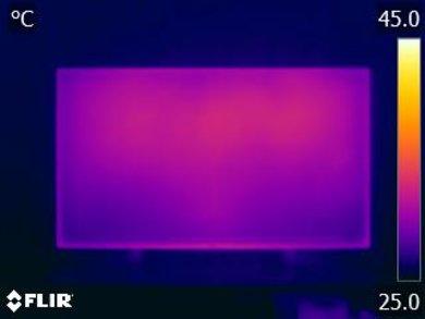 Sony X900F Temperature picture