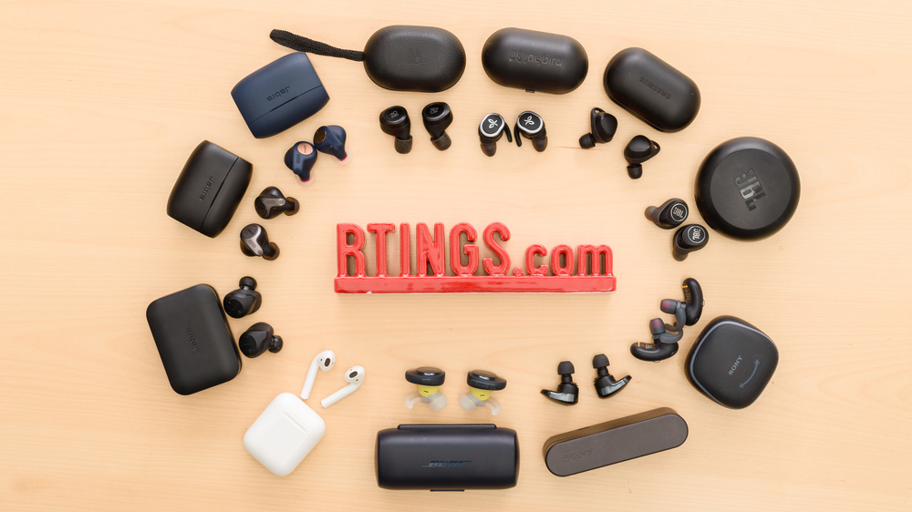 Best True Wireless Earbuds 2019 Under 100 The 7 Best True Wireless Earbuds   Summer 2019: Reviews   RTINGS.com