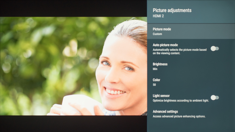 Sony Z9F Calibration Settings 1
