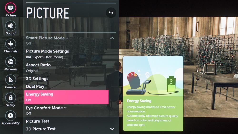 LG C6 Calibration Settings 1