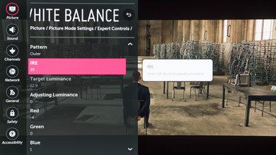 LG C6 Calibration Settings 13