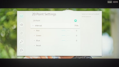 Samsung Q90/Q90R QLED Calibration Settings 70