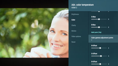 Sony A8F Calibration Settings 14