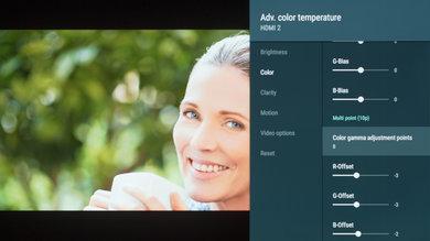 Sony A8F Calibration Settings 15
