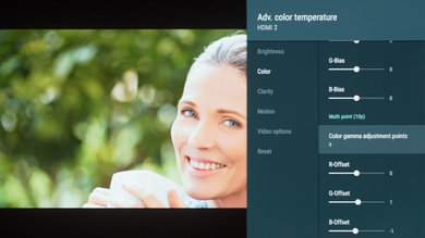 Sony A8F Calibration Settings 16