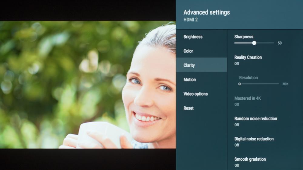Sony A8F Calibration Settings 18