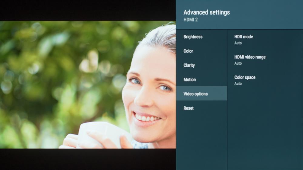 Sony A8F Calibration Settings 21