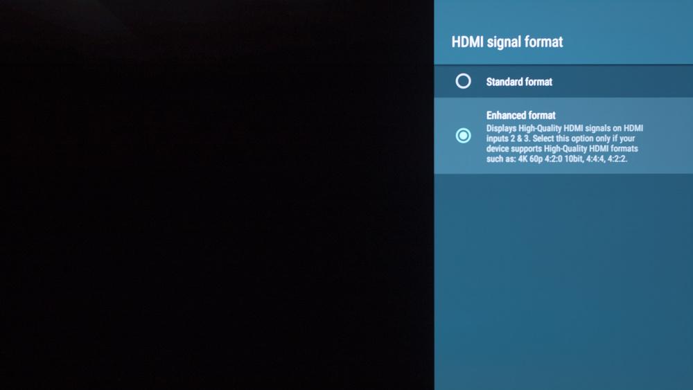 Sony A8F Calibration Settings 25