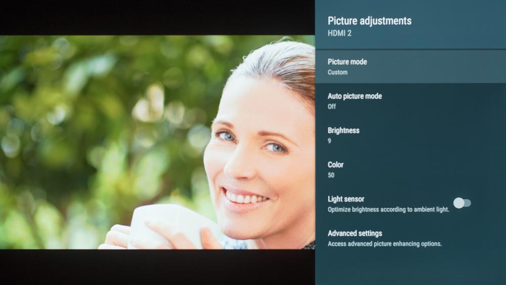 Sony A8F Calibration Settings 4
