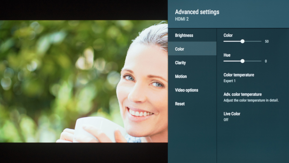 Sony A8F Calibration Settings 6