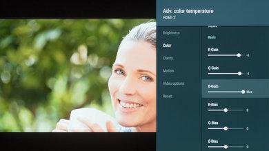 Sony A8F Calibration Settings 7