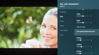 Sony A8F Calibration Settings 8