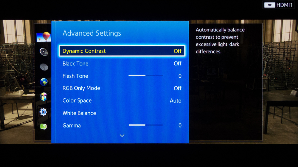 Samsung H5203 Calibration Settings 3