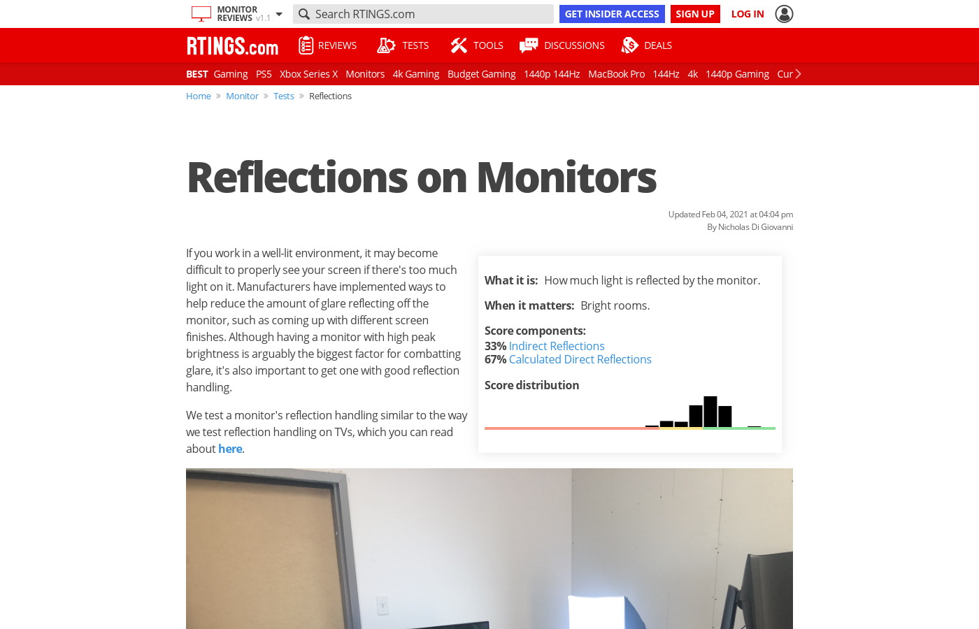 Reflections on Monitors
