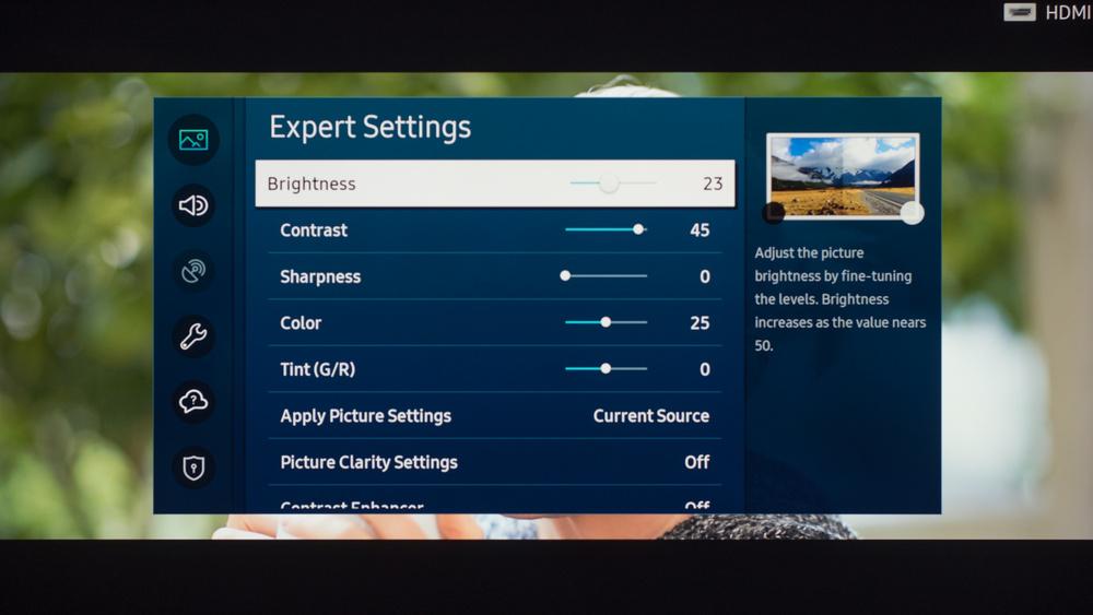 Samsung TU8000 Calibration Settings 13