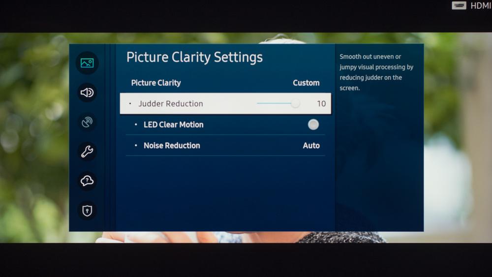 Samsung TU8000 Calibration Settings 16