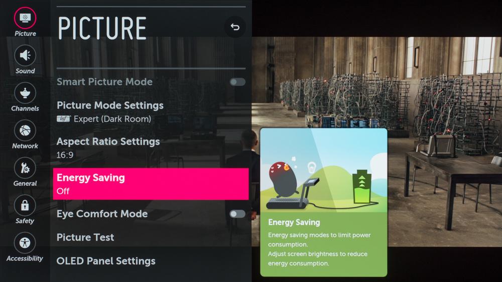 LG C7 Calibration Settings 2