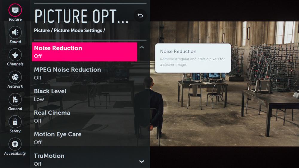 LG C7 Calibration Settings 39