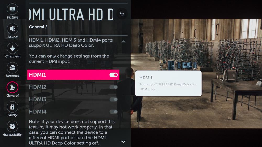 LG C7 Calibration Settings 47