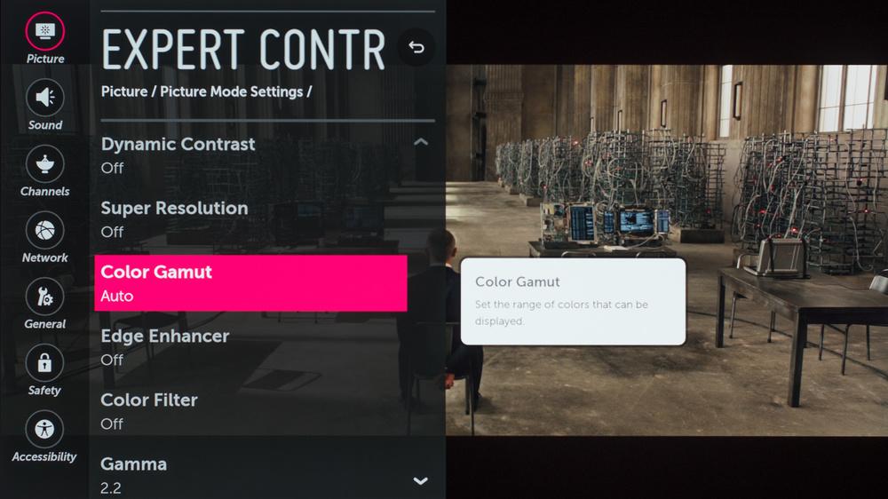 LG C7 Calibration Settings 8